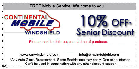 10% off senior discounts